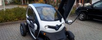 Twizy, auf Tour mit einem Elektroauto