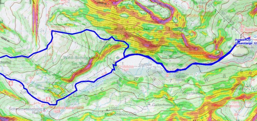 GPS-Planung mit QuoVadis 6