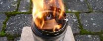 Hobo Holzvergaser selbst gebastelt