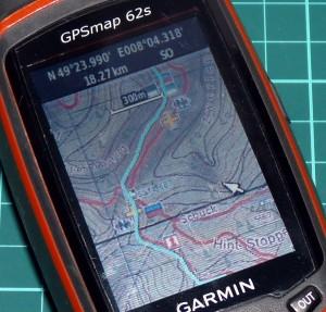 Garmin_GPSMap62s_Kartendarstellung