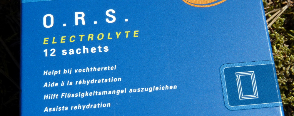 "ORS ""Oral Rehydration Salts"" von Care Plus"