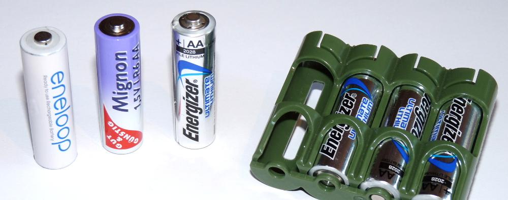 Welche Batterien für das GPS-Gerät?