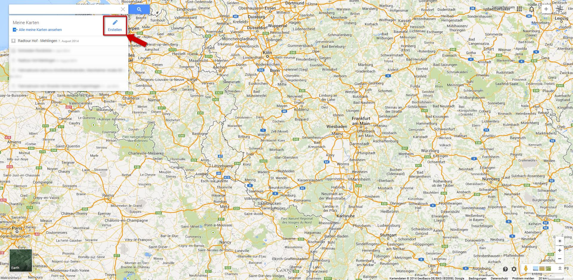 google maps route f r gps ger t exportieren auf tour. Black Bedroom Furniture Sets. Home Design Ideas