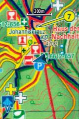 Verwendung_OSM_GPS-Geraet_Rasterkarte
