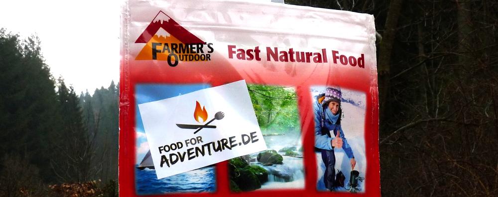 Im Test: Nudeln Carbonara von Farmer's Outdoor
