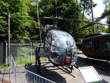 Alouette II Hubschrauber des Bundesgrenzschutz