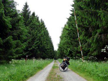 Ein Schlagbaum zu Thüringen