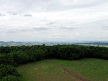 Blick in Richtung Thüringen