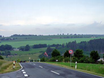 Blick zurück in Richtung Blankenstein