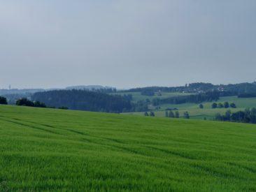 Landschaft kurz vor Mödlareuth