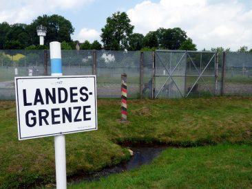 """""""Grenzanlagen"""" der BRD"""