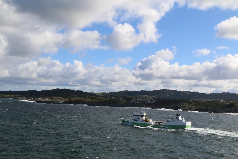 Die norwegische Küste ist in Sicht!