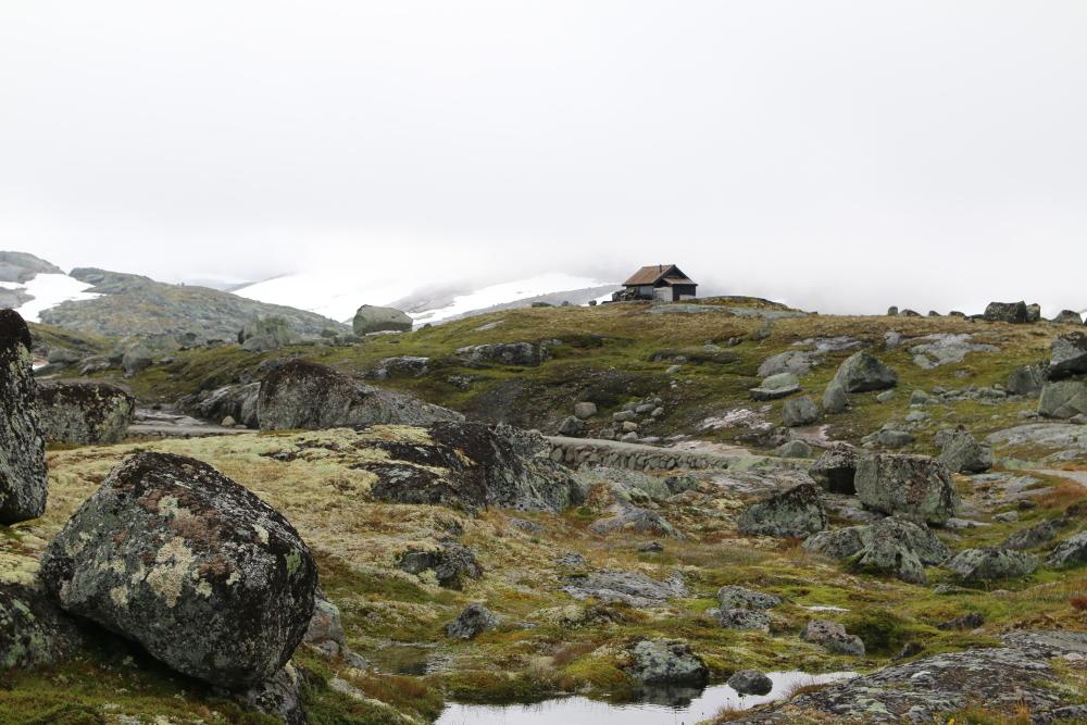 Solch eine Hütte wäre doch was! :)