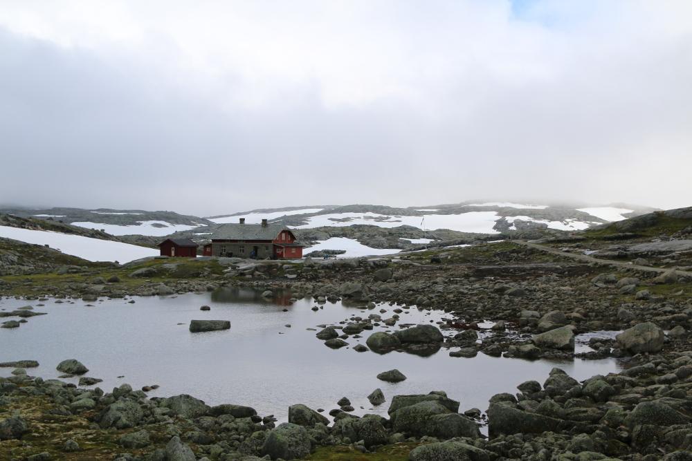 Die bewirtschaftete Hütte Fagernut.