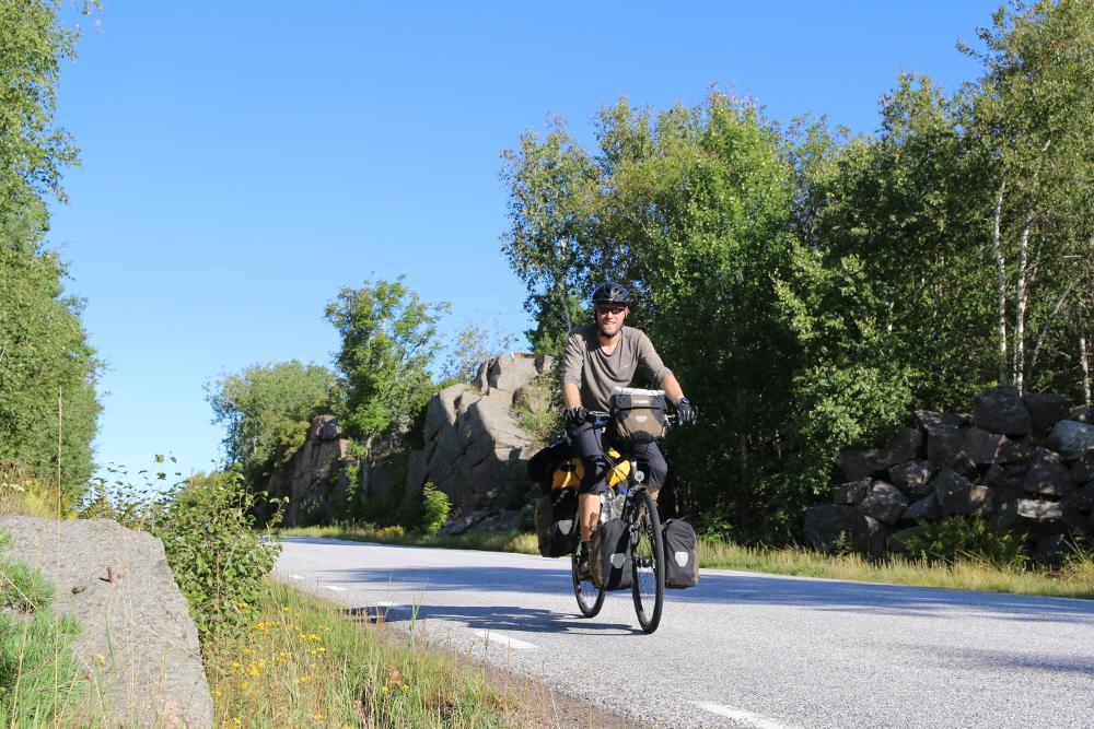 Unterwegs auf Seitenstraßen im Bohuslän. 📢