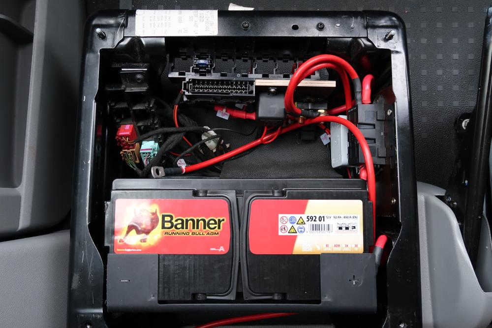 Mein Reisemobil - Einbau der 2. Batterie - auf Tour