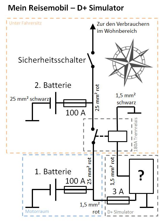 Tolle Zwei Batterie Schaltplan Fotos - Elektrische ...