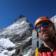 Ich vor dem Matterhorn