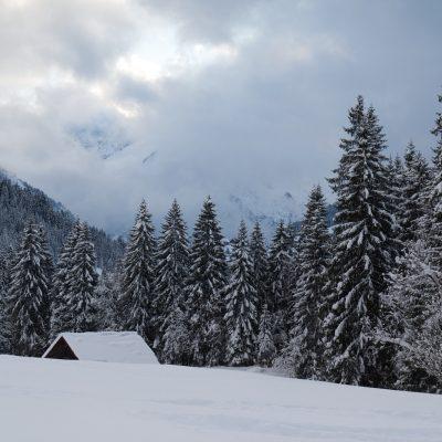 Ausblicke im winterlichen Riezlern