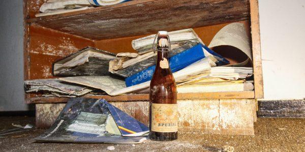 Die letzte Flasche Bier wenn die ICBMs im Anflug sind.