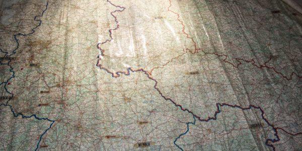 Die ehemalige innerdeutsche Grenze.