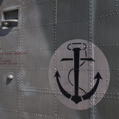Zeichen der Deutschen Marineflieger auf einer S-61 Sea King