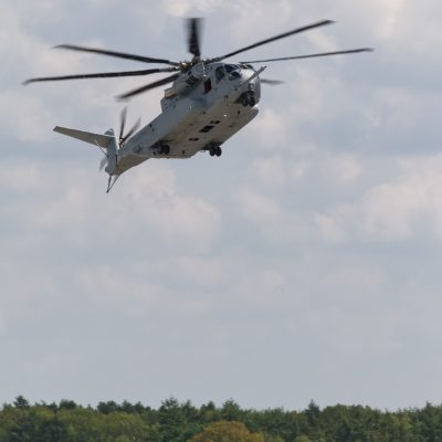 CH-53K im automatischen Landeanflug