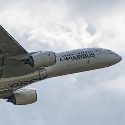 """A350 XWB. Beeindruckend wie leise und gleichzeitig """"sportlich"""" die Maschine ist"""