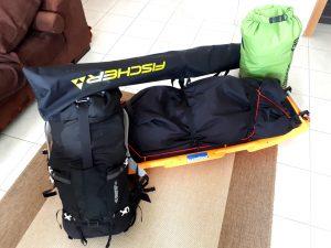 Mein Gepäck für die Vidda