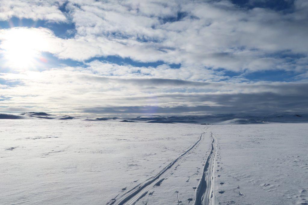 Zwei Soloreisende gemeinsam auf dem Nordmannslågen