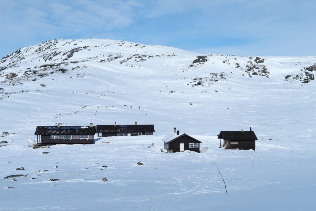Die Hütten von Kjeldebu sind erreicht