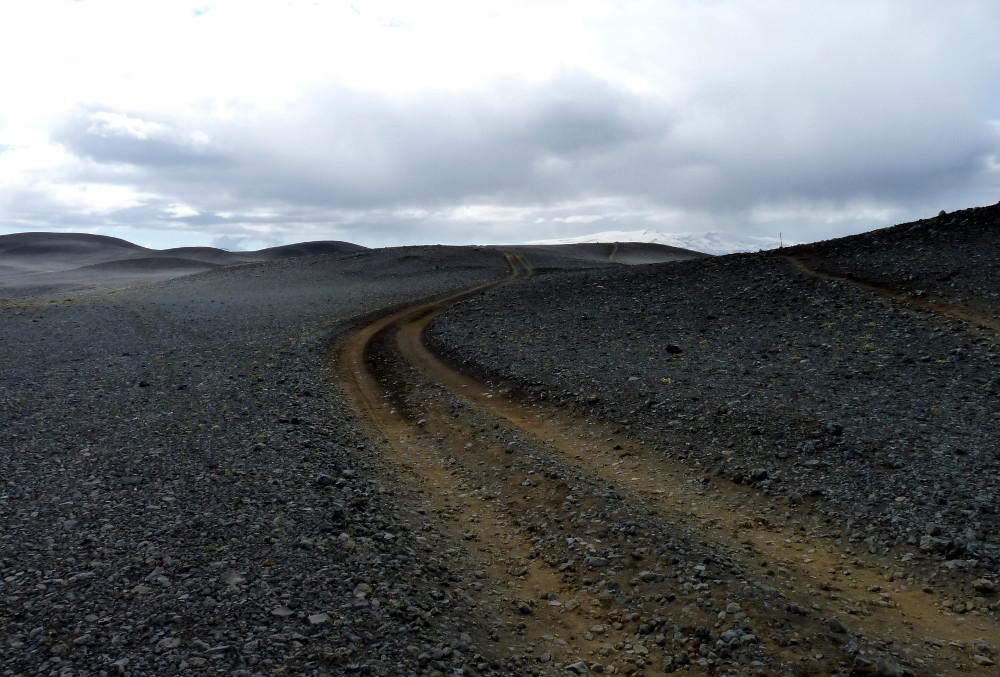 Auf Hochlandpisten soll es durch den Sprengisandur bis nach Akureyri gehen