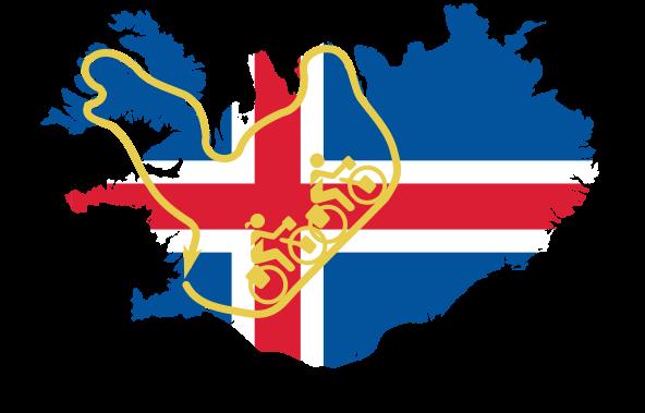 Kein Quietscheentchen, sondern die Route von Iceland Divide