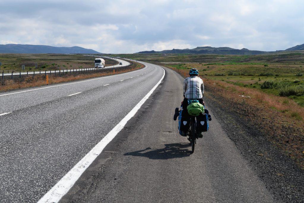 Auf der Ringstraße in Richtung Selfoss