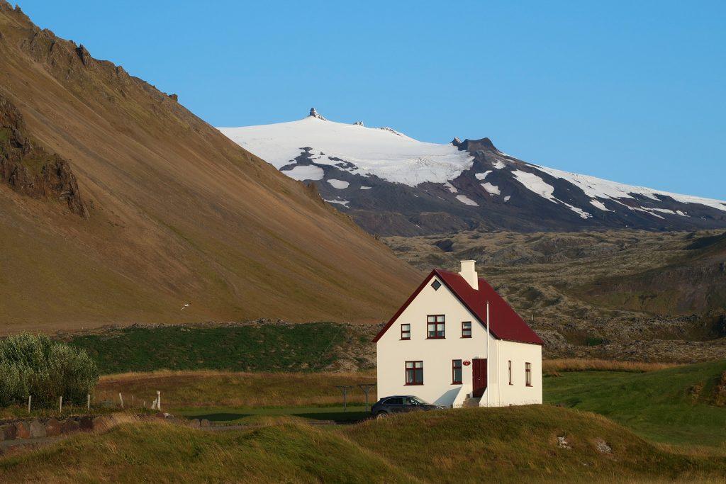 Der Gletscher Snæfellsjökull